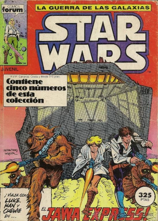 CLASSIC STAR WARS. UNA NUEVA ESPERANZA. 2 PRESTIGIOS Y STAR WARS. RETAPADO DE FORUM. 01 AL 05 (Tebeos y Comics - Forum - Retapados)