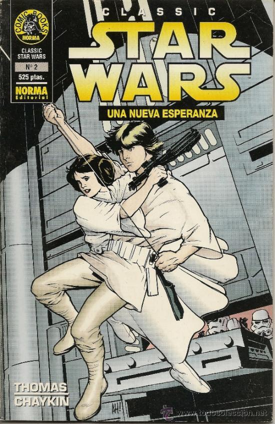 Cómics: CLASSIC STAR WARS. UNA NUEVA ESPERANZA. 2 PRESTIGIOS Y STAR WARS. RETAPADO DE FORUM. 01 AL 05 - Foto 3 - 33083678