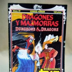 Comics - COMIC, DRAGONES Y MAZMORRAS, TVE, Nº 19, FORUM - 33211590
