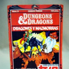 Comics - COMIC, DRAGONES Y MAZMORRAS, TVE, Nº 2, FORUM - 142133468