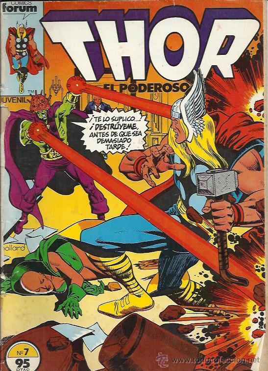 THOR EL PODEROSO ( FORUM ) ORIGINALES 1983-1987 (Tebeos y Comics - Forum - Thor)