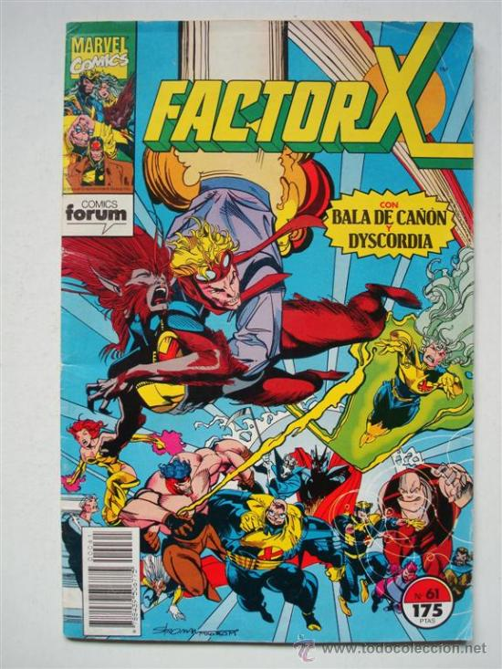 FACTOR-X VOL.1 Nº 61 - FORUM (MARVEL) (Tebeos y Comics - Forum - Factor X)