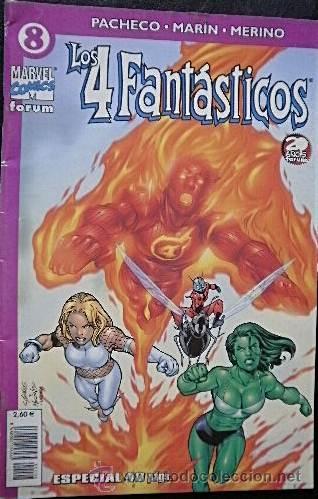 LOS 4 FANTÁSTICOS Nº 8 CARLOS PACHECO & RAFAEL MARÍN & JESÚS MERINO (Tebeos y Comics - Forum - 4 Fantásticos)