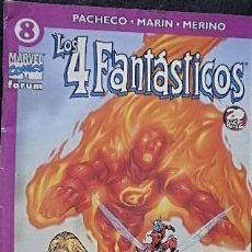 Cómics: LOS 4 FANTÁSTICOS Nº 8 CARLOS PACHECO & RAFAEL MARÍN & JESÚS MERINO. Lote 33207104