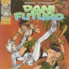 Cómics: DANI FUTURO DE FORUM. 6 NUMEROS. CASI COMPLETA . Lote 33214288