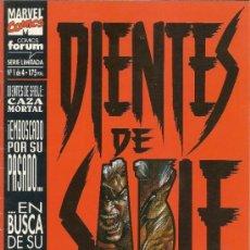 Cómics: DIENTES DE SABLE, 2 EXCELENTES MINISERIES + 2 ESPECIALES +… LOBEZNO . Lote 33233146