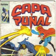 Cómics: CAPA Y PUÑAL Nº 9. FORUM 1989. Lote 33252623