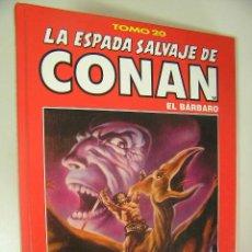 Cómics: LA ESPADA SALVAJE DE CONAN EL BARBARO TOMO ROJO 20 EDICION COLECCIONISTAS COMO NUEVO ,REF COMIC C1. Lote 33327742