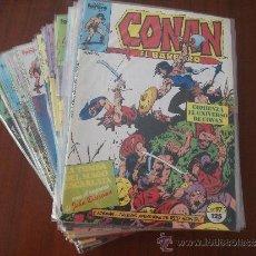 Cómics: CONAN EL BARBARO 1º EDICION LOTE COMICS FORUM. Lote 33360081