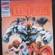 Cómics: CLANDESTINE Nº 1 MARVEL COMICS. Lote 33397509