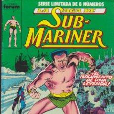 Cómics: LA SAGA DE SUB - MARINER. COMPLETA 8 EJEMPLARES.. Lote 33490108