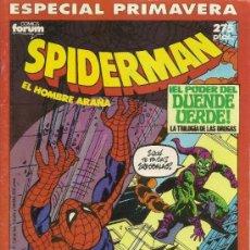 Cómics: SPIDERMAN. 3 ESPECIALES. STAN LEE, JOHN ROMITA , GIL KANE, CHRIS CLAREMONT, JOHN BYRNE . Lote 33757617