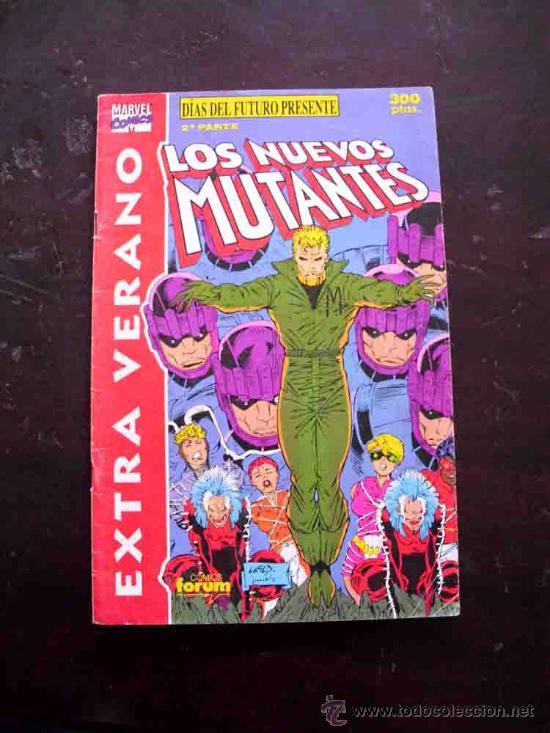 NUEVOS MUTANTES EXTRA VERANO FORUM (Tebeos y Comics - Forum - Nuevos Mutantes)