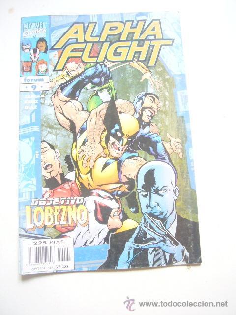 ALPHA FLIGHT VOL. 2 Nº 9 STEVEN SEAGLE FORUM .........C8 (Tebeos y Comics - Forum - Alpha Flight)