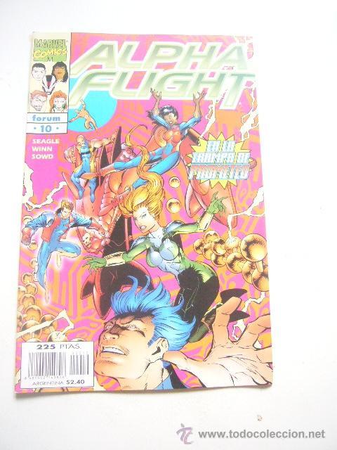ALPHA FLIGHT VOL. 2 Nº 10 STEVEN SEAGLE FORUM .........C8 (Tebeos y Comics - Forum - Alpha Flight)
