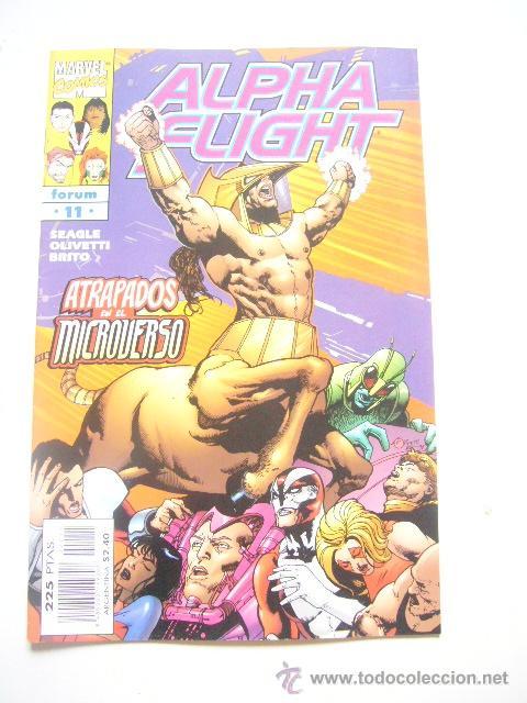 ALPHA FLIGHT VOL. 2 Nº 11 STEVEN SEAGLE FORUM .........C8 (Tebeos y Comics - Forum - Alpha Flight)