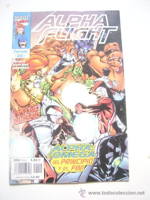 ALPHA FLIGHT VOL. 2 Nº 20 STEVEN SEAGLE FORUM .........C8 (Tebeos y Comics - Forum - Alpha Flight)
