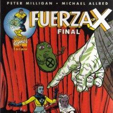 Cómics: FUERZA X: FINAL (PETER MILLIGAN , MICHAEL ALLRED, FORUM) - CJ125. Lote 33939852
