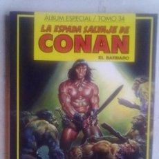 Cómics: LA ESPADA SALVAJE DE CONAN - TOMO 34. Lote 34080360