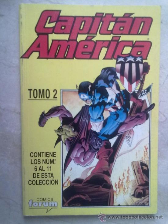 CAPITAN AMERICA VOL. 4 TOMO 2 -NUMEROS DEL 6 AL 11 (Tebeos y Comics - Forum - Capitán América)