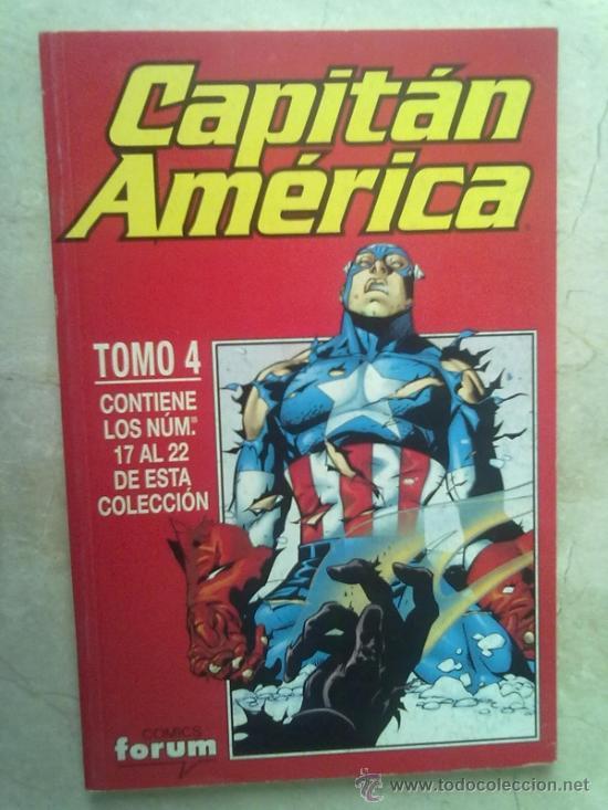 CAPITAN AMERICA VOL. 4 TOMO 4 -NUMEROS DEL 17 AL 22 (Tebeos y Comics - Forum - Capitán América)