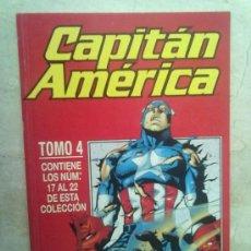 Cómics: CAPITAN AMERICA VOL. 4 TOMO 4 -NUMEROS DEL 17 AL 22. Lote 34156412