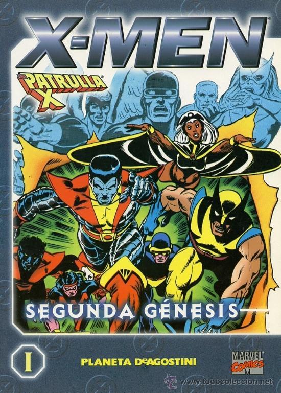 X-MEN/LA PATRULLA-X [1, 2, 4 Y 6] (Tebeos y Comics - Forum - Patrulla X)