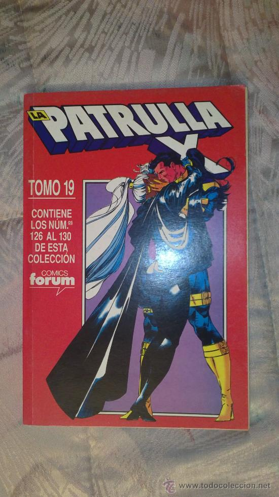 RETAPADO PATRULLA X TOMO 19 FORUM (Tebeos y Comics - Forum - Retapados)
