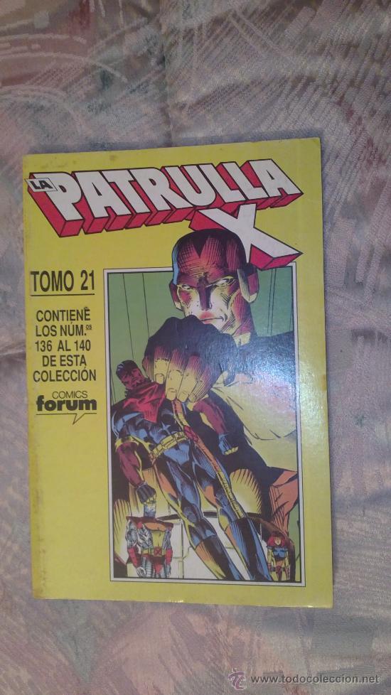 RETAPADO PATRULLA X TOMO 21 FORUM (Tebeos y Comics - Forum - Retapados)