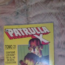 Comics : RETAPADO PATRULLA X TOMO 21 FORUM. Lote 34169303