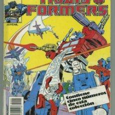 Cómics: TRANS FORMERS RETAPADO DE 5 NUMEROS.. Lote 34216073