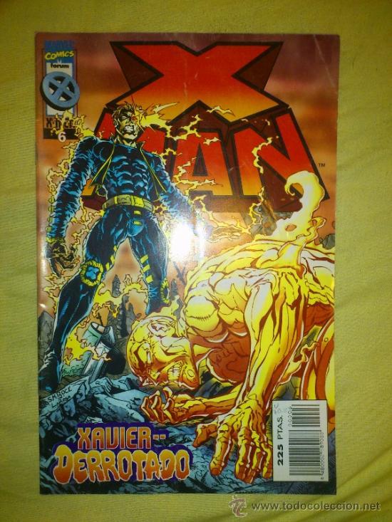 X-MAN VOL. 2 Nº 6 FORUM. (Tebeos y Comics - Forum - X-Men)