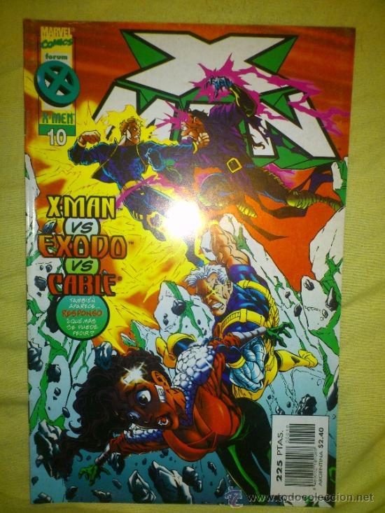 X-MAN VOL. 2 Nº 10 FORUM. (Tebeos y Comics - Forum - X-Men)