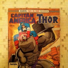 Cómics: MARVEL TWO-IN-ONE: CAPITÁN AMÉRICA & THOR VOL.1 Nº 53 - FORUM. Lote 34289429