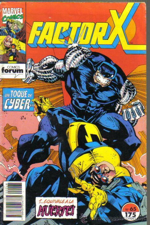 FACTOR X Nº 65. VOL I. (Tebeos y Comics - Forum - Factor X)