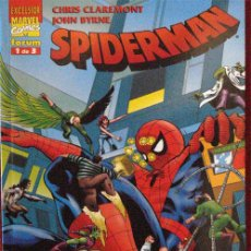 Cómics: SPIDERMAN 1 CLAREMONT Y BYRNE, MARVEL TEAM-UP. TOMO FORUM , COLOR. Lote 34300392