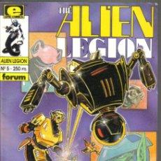 Cómics: THE ALIEN LEGION, Nº 5. EPIC COMICS. FORUM. Lote 34308896