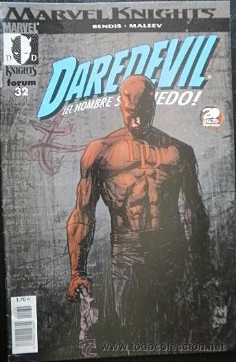 DAREDEVIL Nº 32 BRIAN MICHAEL BENDIS & ALEX MALEEV - MARVEL KNIGHTS (Tebeos y Comics - Forum - Daredevil)