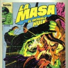 Cómics: LA MASA. EL INCREIBLE HULK. MUNDOS DESCONOCIDOS Nº 39.. Lote 34342639