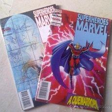 Cómics: SUPERHEROES MARVEL NºS 4 Y 7 -MIRAR FOTOS-. Lote 34452967
