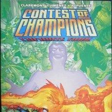 Comics: CONTEST OF CHAMPIONS: COMBATE FINAL CLAREMONT & JIMÉNEZ & ALPUENTE . Lote 34401476