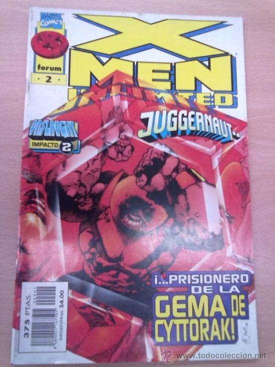 Cómics: X-MEN UNLIMITED -LOTE NºS 2 Y 3- VER FOTOS- - Foto 2 - 34494008