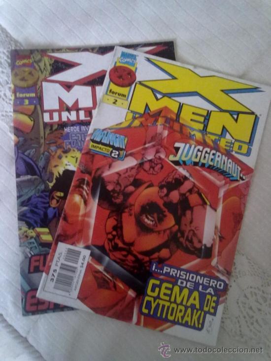 X-MEN UNLIMITED -LOTE NºS 2 Y 3- VER FOTOS- (Tebeos y Comics - Forum - X-Men)