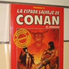 Comics : LA ESPADA SALVAJE DE CONAN TOMO ROJO Nº 11 FORUM OFERTA. Lote 106562172