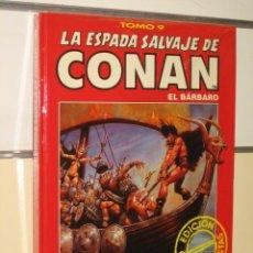 Cómics: LA ESPADA SALVAJE DE CONAN TOMO ROJO Nº 9 FORUM OFERTA. Lote 159473737