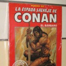 Cómics: LA ESPADA SALVAJE DE CONAN TOMO ROJO Nº 27 FORUM OFERTA. Lote 162683150