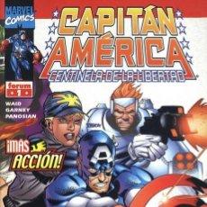 Cómics: CAPITAN AMERICA - CENTINELA DE LA LIBERTAD [NUMEROS 1 AL 5]. Lote 34540043