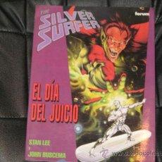 Cómics: SILVER SURFER - EL DÍA DEL JUICIO -STAN LEE/JOHN BUSCEMA - FORUM - RUSTICA SOLAPAS. Lote 34566255