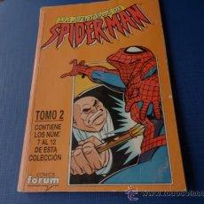 Cómics: LAS AVENTURAS DE SPIDERMAN RETAPADO NUMS. 07 AL 12 (ULTIMO NUMERO) . Lote 34604827