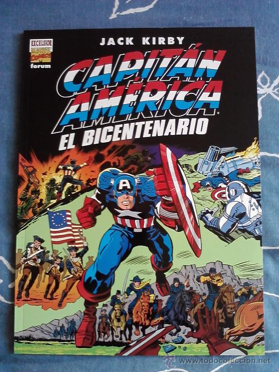 CAPITAN AMERICA EL BICENTENARIO JACK KIRBY, FORUM, PLANETA AÑO 2000 (Tebeos y Comics - Forum - Capitán América)